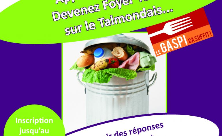 OPERATION ANTI-GASPILLAGE ALIMENTAIRE