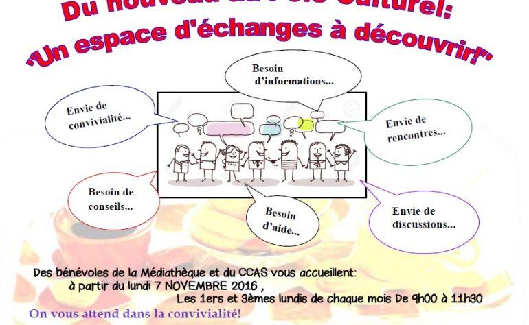 ESPACE D'ÉCHANGE POLE CULTUREL