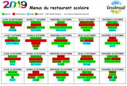 menu s