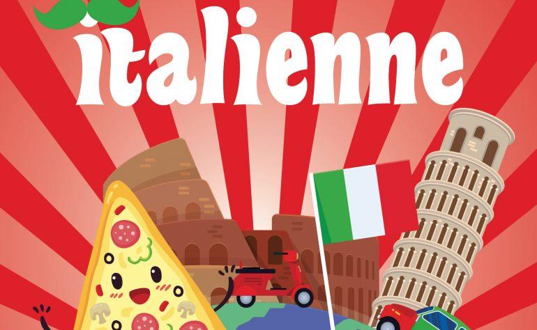 SOIRÉE ITALIENNE VENDREDI 19 OCTOBRE
