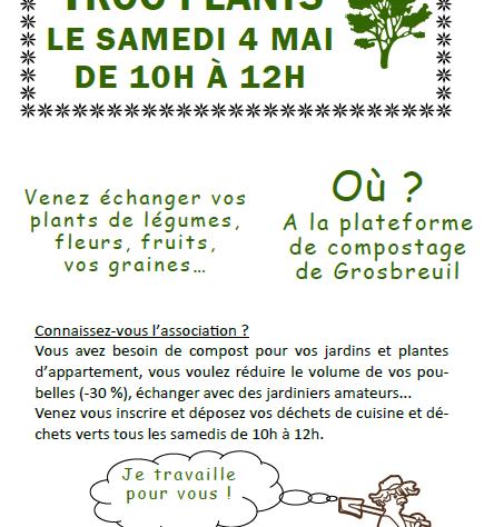 TROC'PLANTS 4 MAI 2019