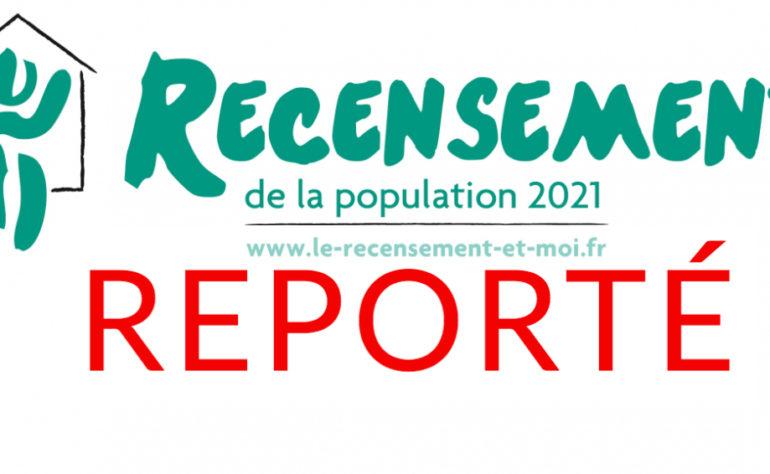 RECENSEMENT REPORTE