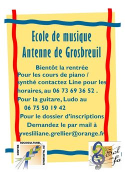 ecole musique cct grosbreuil
